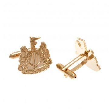 Newcastle United Gold Plated Cufflinks